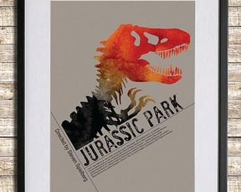 Jurassic Park Poster Print