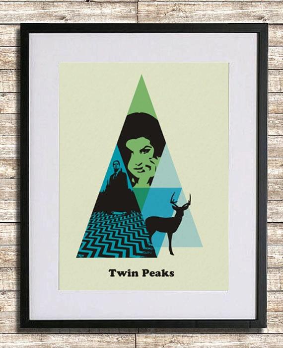 Twin Peaks Poster Print