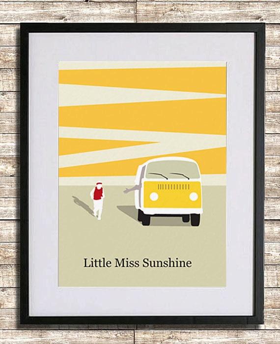 Little Miss Sunshine Poster Print