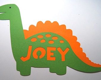 Dinosaur Decoration Brachisaurus Name