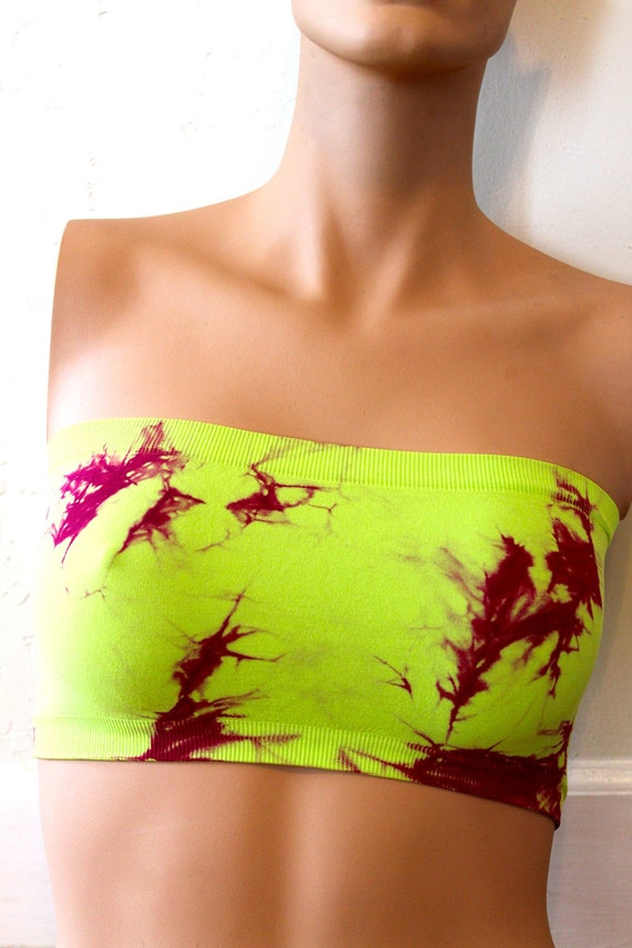 Neon-Dyed Bandeau