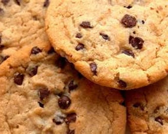 Nana's Giant Chewy Chocolate Chip Cookies