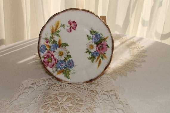 """Royal Albert  """"Harvest Bouquet"""" dessert plate"""