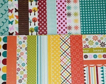 A walk in the park collection 6x6 paper pack by Echo Park 22 sheets