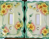Hand-painted Lightswitch Plates