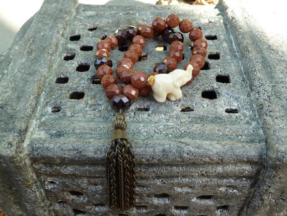 Lucky Elephant temple bracelet.