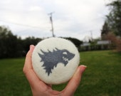 House Stark Game of Thrones Felted Soap