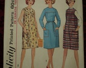 Vintage Juniors' and Misses' Dress and Jumper Pattern