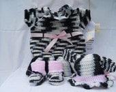 Cute Cow Dress Set