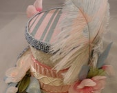 Marie Antoinette Cherry Blossom Mini Top Hat