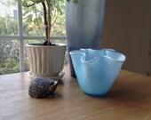 Vintage Italian Handkerchief Vase