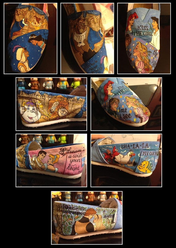 Custom Hand-Painted Shoes for Jordan R.