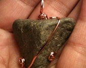 Handmade in Vermont, Healing Pendant, Reiki Worker, protection from EMF's,