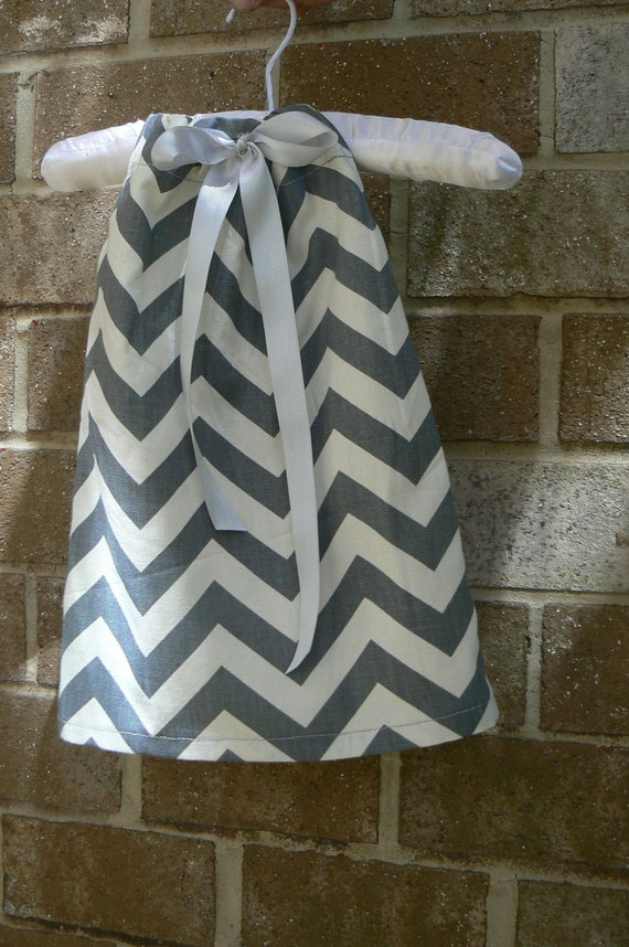 Chevron Print Pillow Case Dress
