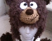Crochet pattern, Fuzzy Wuzzy hat, sizes newborn to adult, permission to sell