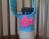 Fish Motif Water Bottle Carrier