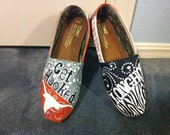 University of Texas Toms.  Longhorn Toms Shoes