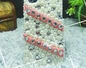 Lace pearl case iphone 4 case iphone 4s case