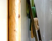 Rustic Reclaimed Decorative Leaning Ladder