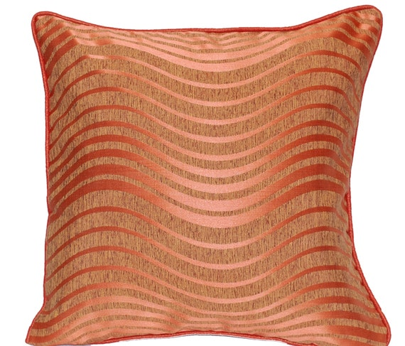 Peach Decorative Throw Pillows : Peach Throw Pillow Coral Throw Pillow Decorative Throw