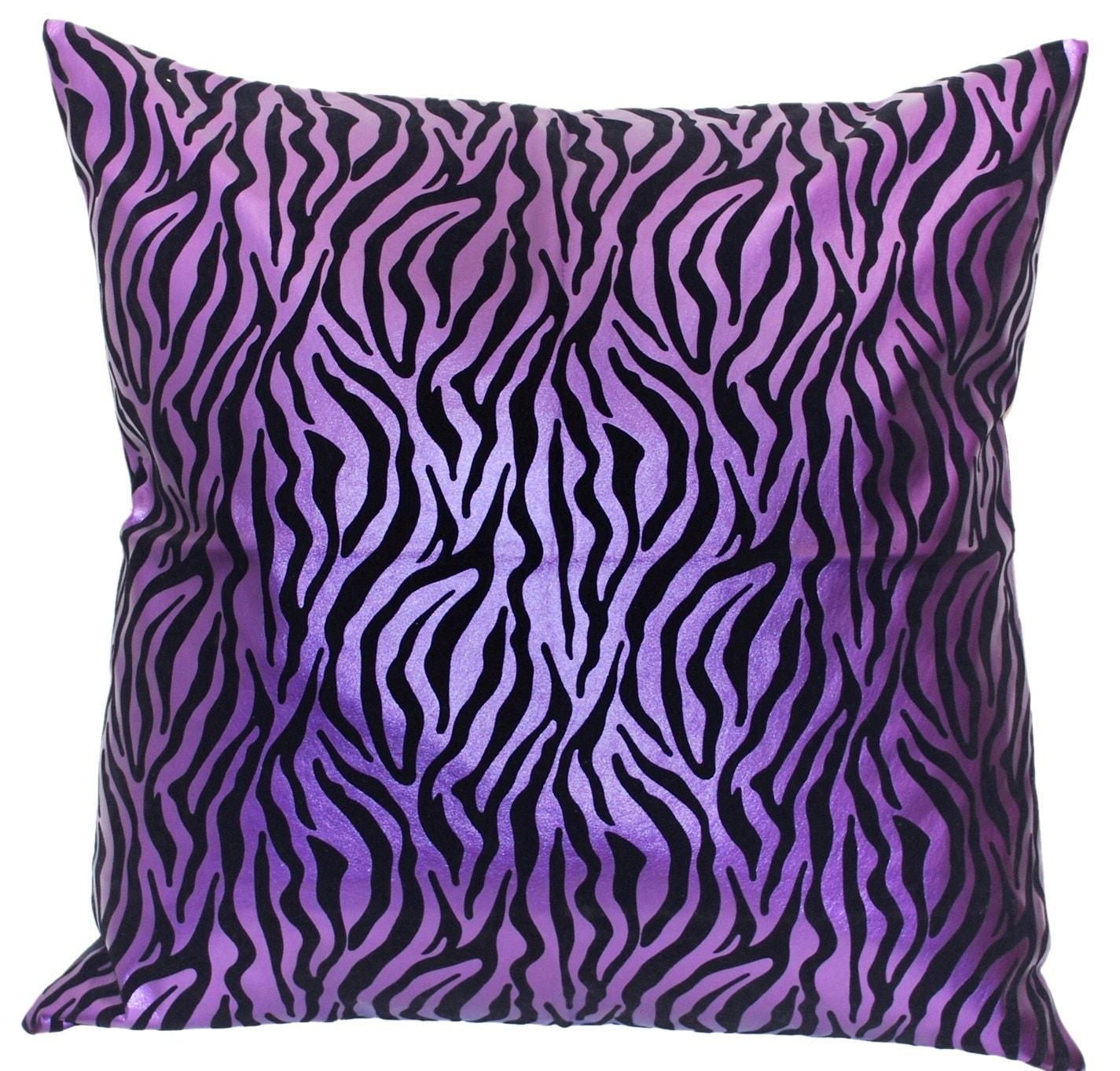 Animal Print Throw Pillows And Blankets : Animal Print Throw Pillow Zebra Print Large Throw Pillow
