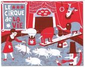 Le cirque de la vie  / Mutant Book (pop up)