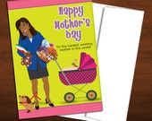 Busy African American Mom - Mother's Day Card