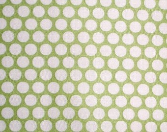 Kei Honeycomb Dot in Green by Yuwa of Japan- Fat Quarter