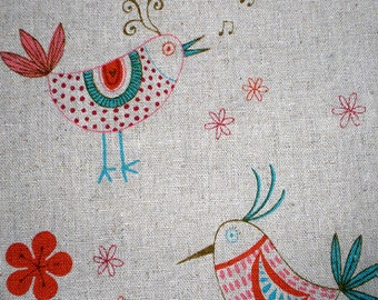 Kei Folk Birds on Natural by  Yuwa of Japan