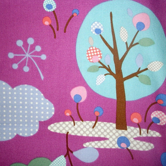 Daiwabo Japan Forest in Plum from  Junko Matsuda