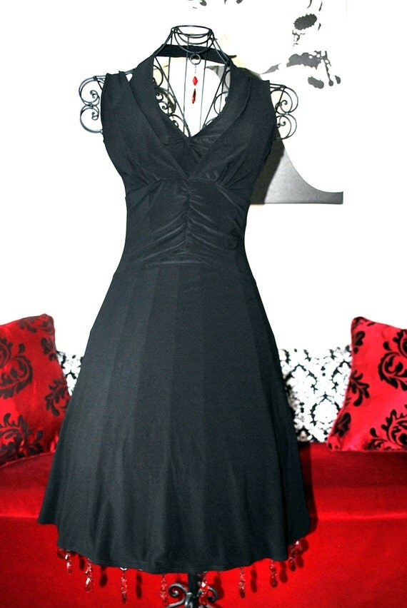 RESERVED for Jennifer.....Black Halter Dress.....Marilyn Monroe Style....Treasure Worthy.....