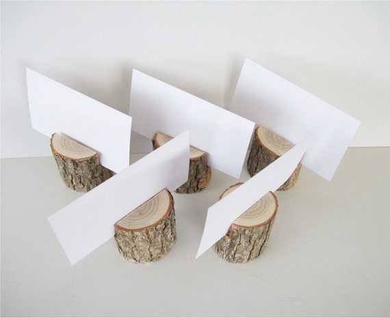 wooden table number holders 2