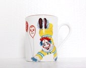 Creepy Clown Mug Coulrophobia Roy Kirkham Big Top Cup Circus Balloons Carnival Childrens Tableware Scary Face