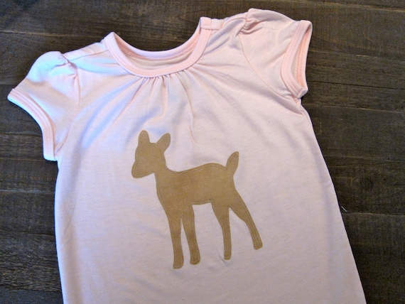 Fabric Applique Template: Deer