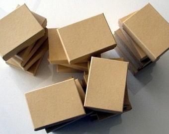 "4 Kraft Box, Gift Box - 3"" X 2 1/4"" X 1"""