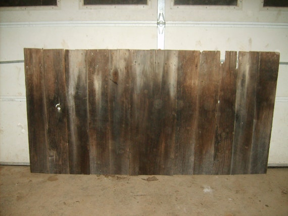 Handmade Reclaimed Wood Headboard -King Size (Reserved for Elle)