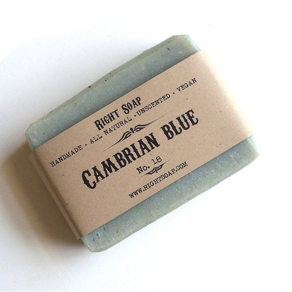 Cambrian Blue Soap, Natural soaps, handmade soaps, homemade soaps, Christmas stocking, Christmas gifts, gift soap, cold process soap, vegan