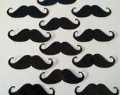 MUSTACHE STICKERS (Set of 20)