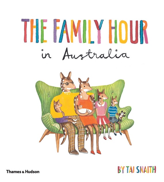 A signed copy of The Family Hour in Australia