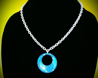 Handmade Upcycled 1980s Necklace
