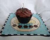 Chocolate Lover's Cupcake Candle