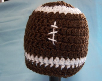 Football Hat  - Newborn