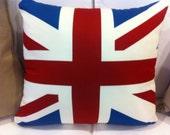 Union Jack decorative pillow