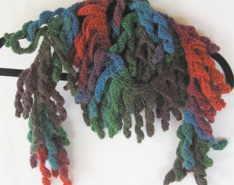 Scarf - warm and cuddly - generous size. Women's. Ready to ship. Hand crocheted.