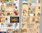 Merry Christmas Creative Scraps (Double Sided) CS07-DS