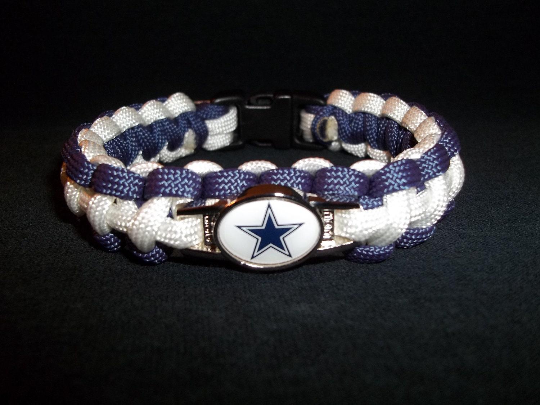 items similar to dallas cowboys paracord bracelet on etsy. Black Bedroom Furniture Sets. Home Design Ideas