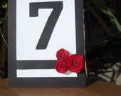 Reserved - Table numbers 1-12