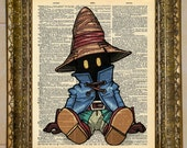 Final Fantasy IX Vivi Dictionary Art featured image