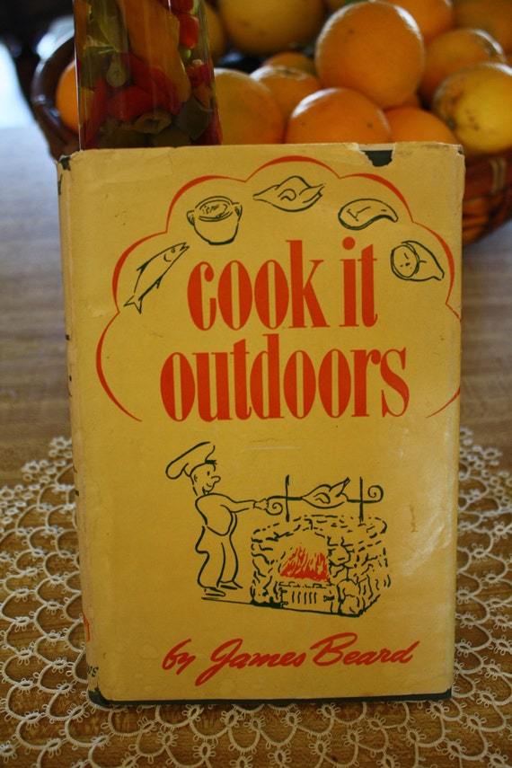 "Vintage Cookbook ""Cook It Outdoors"" by James Beard (1947)"