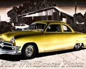 1950 Ford Lowrider - 8 x 12 Fine Art Photo - Lowrider - Old Ford - Classic Car Photo - Retro - Americana - Gift Idea for Men